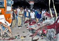 விடிய விடிய ஓடிய கார் விபத்து: ஒரே குடும்பத்தில் 5 பேர் பலி