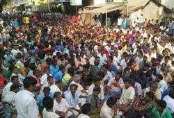அலங்காநல்லூர்:காளைகளை கொண்டு வர கிராம மக்கள் அனுமதி மறுப்பு
