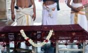 திருவெண்காடு அகோரமூர்த்தி சன்னதியில் ருத்திராட்ஷ