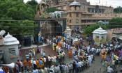 கிருஷ்ண ஜெயந்தி விழா : மதுராவில் கோலாகல கொண்டாட்டம்!