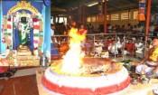 பாதூர் பிரத்தியங்கரா தேவி கோவிலில் நிகுலம்பலா யாகம்