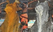 திருவண்ணாமலை அருணாச்சலேஸ்வரர் கோவிலில் பிரதோஷ  பூஜை