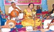 வேலங்குடி பெரியநாயகி அம்மன் கோயிலில் நவராத்திரி இசை