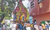 சிதம்பரேஸ்வரர் கோவில் தேரோட்டம் : 13 ஆண்டுக்கு பின்