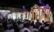 கிருஷ்ணகிரி தூய விண்ணரசி ஆலய தேர்த்திருவிழா