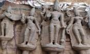 திருப்போரூர் அருகே புராதன கற்சிலைகள் கண்டெடுப்பு