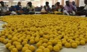 வைகுண்ட ஏகாதசி பெருவிழா: தயாராகும் 50 ஆயிரம் லட்டுகள்