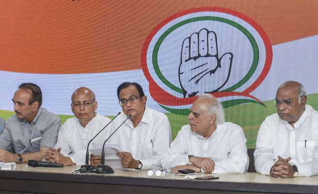 Chidambaram press conference