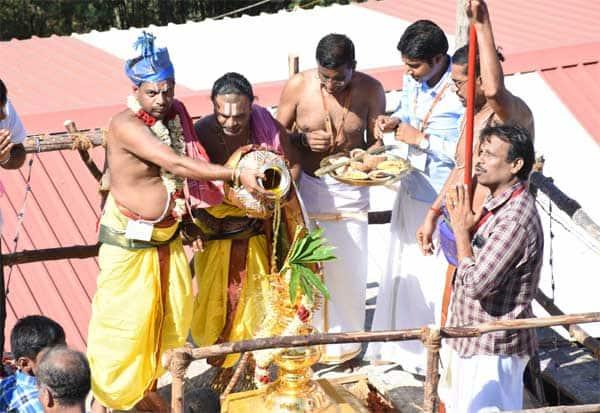 பஞ்சவடீ ஆஞ்ஜநேயர் கோவில் மகா கும்பாபிஷேகம் கோலாகலம் Gallerye_113422935_2304356