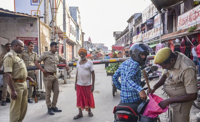 Security beefed up in Ayodhya