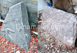 Historical stones now in danger