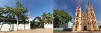 360 டிகிரி கோணம், பள்ளிவாசல், தேவாலயம்