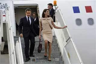 French President Sarkozy to meet PM in Delhi today , பிரான்ஸ் அதிபர் சர்கோசிக்கு பிரதமர் விருந்து