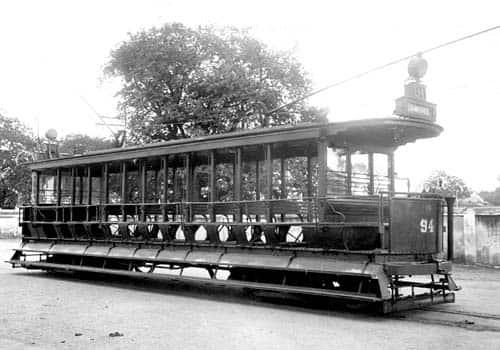 Transport In Old madras, Madras road transport