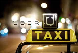 Anger, Uber, call taxi,India, 'உபெர்' கால் டாக்சி, நாடு,  எதிர்ப்பு, மும்பை, தாக்குதல், ஐதராபாத், தடை