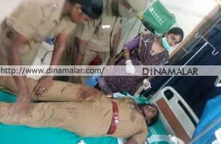 police station, attack, vellore, ambur, போலீஸ் ஸ்டேஷன், ஆம்பூர், வேலூர், வன்முறை, தாக்குதல்