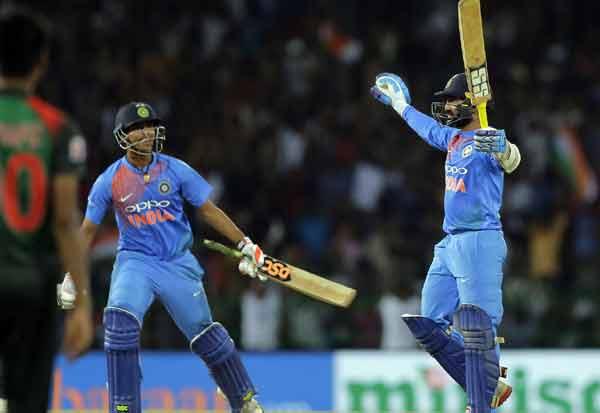 Tri Series T20, Dinesh Karthik ,India Champion,தினேஷ் கார்த்திக் அசத்தல், இந்தியா கோப்பை வென்றது, முத்தரப்பு டுவென்டி-20,  வங்கதேசம், இந்தியா வங்கதேசம் பைனல், ரோகித், தினேஷ் கார்த்திக், இந்தியா வெற்றி, இந்தியா சாம்பியன் ,முத்தரப்பு கிரிக்கெட் ,   Bangladesh, India Bangladesh Final, Rohit,  India Won,  Tri Series Cricket,