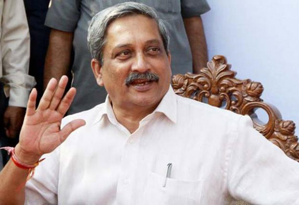 கோவா,முதல்வர்,பரீக்கர்,நாடு திரும்பினர்,Chief Minister,Manohar Parrikar,arrives,Panaji