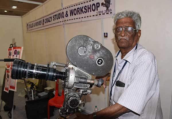பழம் பெருமை பேசும் கேமிரா கலைஞர் பிரசாத்ராவ்
