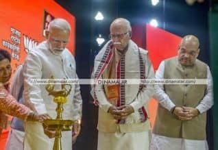 மோடி, அமித்ஷா, பா.ஜ., வெற்றி