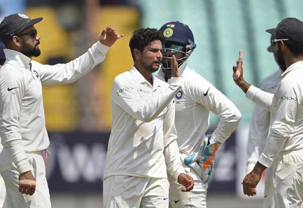 India vs West Indies, IND vs WI, Rajkot Test,  இந்தியா vs வெஸ்ட் இண்டீஸ், டெஸ்ட் கிரிக்கெட், வெஸ்ட் இண்டீஸ், குல்தீப்,  ராஜ்கோட் டெஸ்ட் , வெஸ்ட் இண்டீஸ் பாலோ ஆன், குல்தீப் யாதவ்,  Test Cricket, West Indies, Kuldeep, West Indies Palo On, Kuldeep Yadav, India
