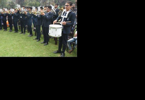 காவலர் தின விழிப்புணர்வு பூங்காவில் இசை நிகழ்ச்சி
