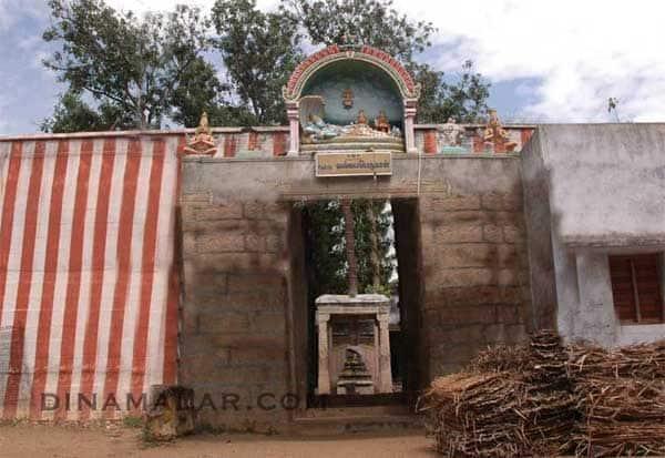 குருவித்துறை, பெருமாள் கோவில், சிலைகள், திருட்டு