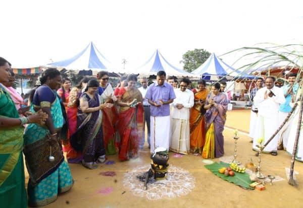 போலீஸ் கொண்டாடும் பொங்கல் விழா: மன அழுத்தத்திற்கு, 'குட் பை'