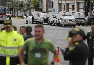 போலீஸ் அகாடமியில் வெடிகுண்டு: 21 பேர் பலி