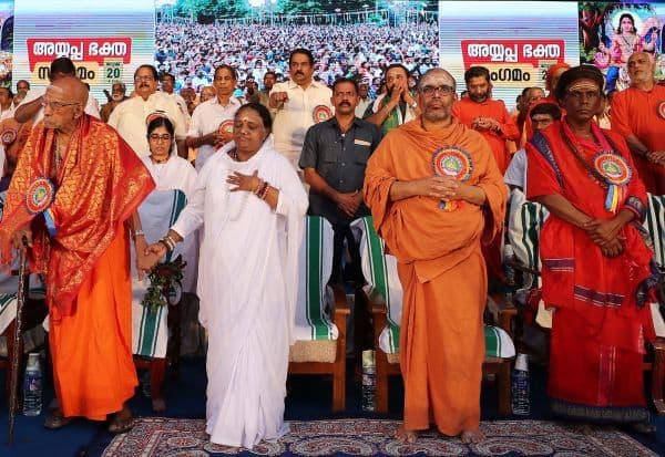 திருவனந்தபுரம்,திரண்ட,ஐயப்ப பக்தர்கள்,பினராயி,அதிர்ச்சி