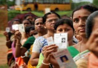 இரண்டாம் கட்ட தேர்தல்: 66 சதவீதம் ஓட்டுபதிவு