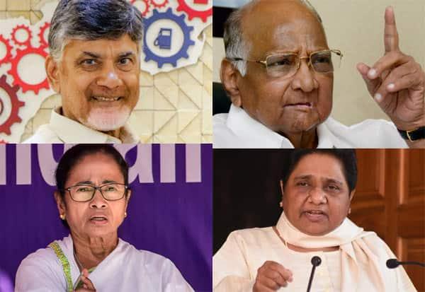 எதிர்க்கட்சிகள், சந்திரபாபு, சரத்பவார், மம்தா, மாயாவதி, தேர்தல் ஆணையம்
