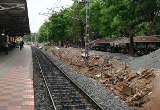 வேகம்! ஐந்தாவது நடைமேடை பணி... கிண்டி ரயில் நிலையத்தில் ஜரூர் Tamil_News_large_2308417_318_219