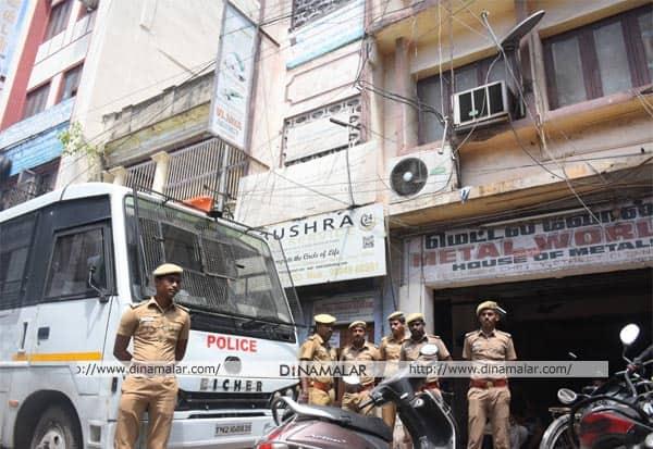 சென்னை, இஸ்லாமிய அமைப்பு, சோதனை