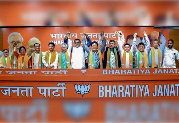 சிக்கிம்,எதிர்க்கட்சி,கூண்டோடு காலி,ஐக்கியம்,MLA,B.J.P,BJP,Bharatiya Janata Party,எம்.எல்.ஏ.,பா.ஜ