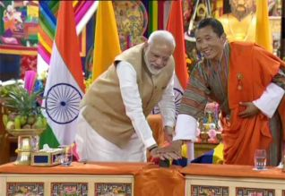 பூடான் வளர்ச்சிக்கு இந்தியா உதவி: மோடி
