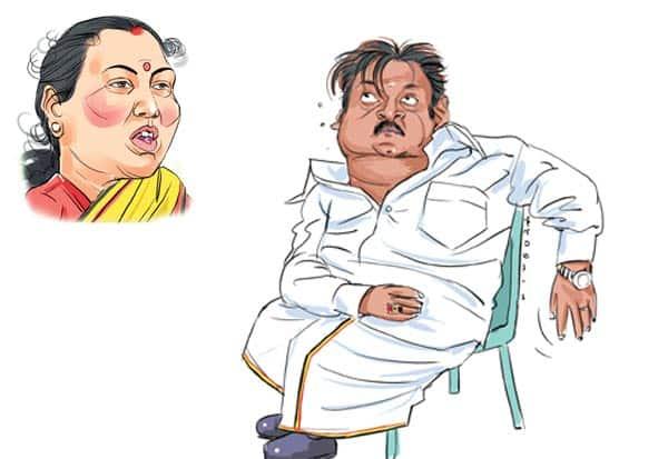 விழுந்த கட்சியை தூக்கி நிறுத்த  விஜயகாந்த், பிரேமலதா முயற்சி