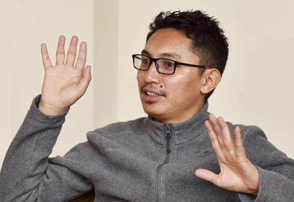 China, Demchok, Congress, Ladakh, BJP MP, Namgyal,