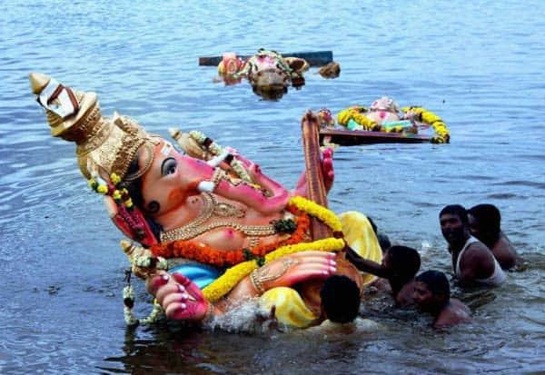 விநாயகர் சதுர்த்தி, சிலை கரைப்பு, ஏரி, சிறுவர்கள், பலி , கோலார்
