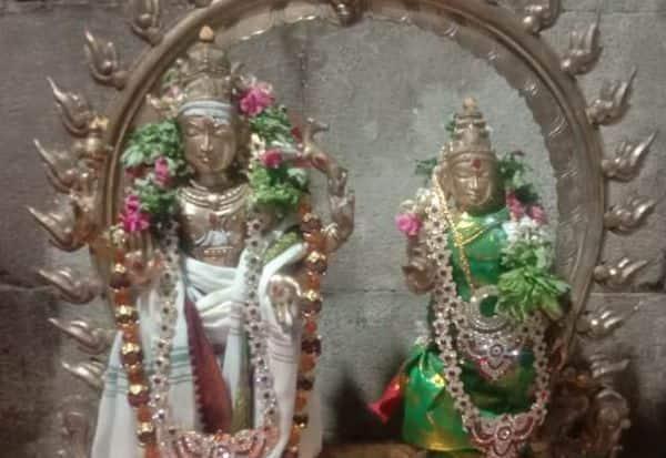 ஈஸ்வரன் கோவிலில் இரு ஐம்பொன் சிலைகள் கொள்ளை