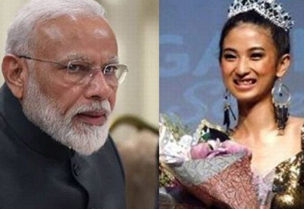 nagaland,miss kohima,Focus on women, not cows,Miss Kohima,runner-up,message,PM,Modi,viral
