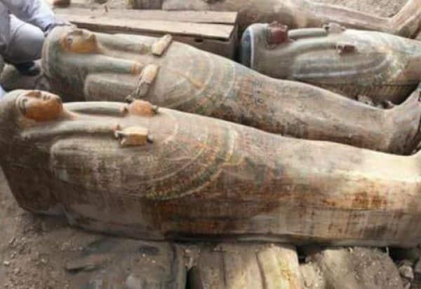 3,000 ஆண்டுகளுக்கு முந்தைய சவப் பெட்டிகள்