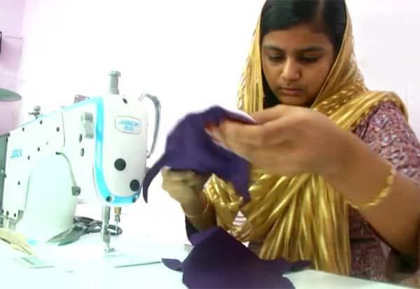 Coimbatore,girl,producing,reusable,cotton,sanitary napkins, napkins, பருத்தி நாப்கின், அசத்தும், கோவை, இளம்பெண், தினமலர், dinamalar
