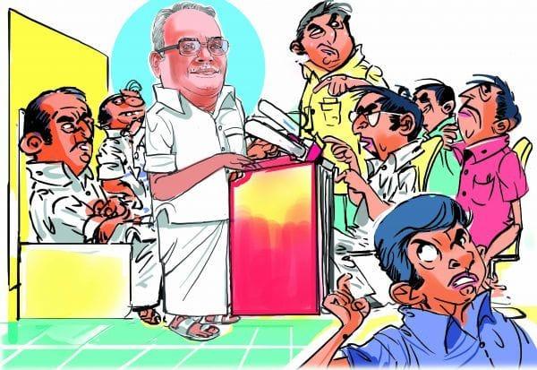 'உள்ளாட்சி தேர்தல் சிதம்பர ரகசியமா...