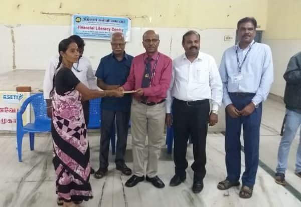 நிதி சார் கல்வி மையம் விழிப்புணர்வு முகாம்
