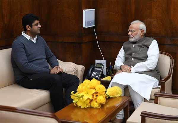 Haryana, Deputy Chief Minister, Dushyant Chautala, Prime Minister, Narendra Modi,