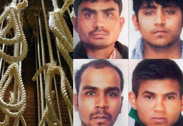 nibhayacase,dummyhang,DelhiRapeCase,convicts, நிர்பயா, வழக்கு, தூக்குஒத்திகை, திகார் ஜெயில், டில்லி
