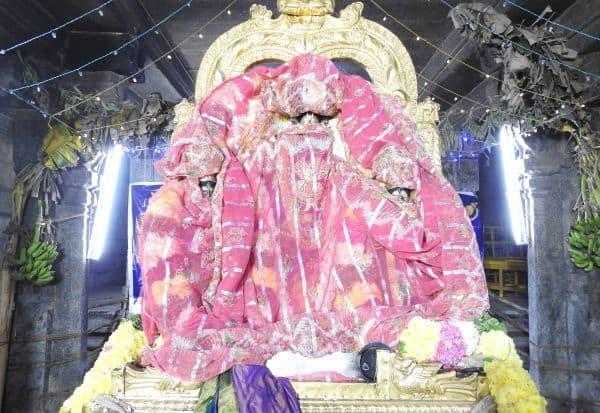 திருக்கோவிலுார் உலகளந்த பெருமாள் கோவிலில் ராப்பத்து உற்சவம்