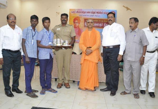 விவேகானந்தா கல்லுாரியில் தேசிய இளைஞர் தின விழா