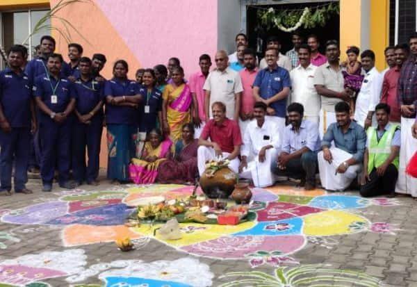 டோல் பிளாசாவில் சமத்துவ பொங்கல் விழா
